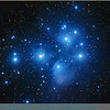 """The Pleiades Cluster (M45) in Taurus is probably the most famous star cluster readily visible to observers in Winter.   It resembles a miniature Big Dipper.  Observers can readily see 6 bright stars and keen-eyed observers more.  There are 7 named stars in the group also known as The Seven Sisters.  A blue veil of nebulosity surrounds the brightest stars .   Image captured with AP130GT @ f/6.8 using an STL-11000M and LRGB filters (70;60;50;60min). By coincidence, an image of the Geminid Meteor Shower was captured the following night. <a href=""""http://lbuckphotos.smugmug.com/Astrophotography/Solar-System/Solar-System/17251880_T5vNWr#!i=1128295924&k=qXC3BQs&lb=1&s=A""""> <span style=""""color:yellow"""">Link to Geminid Meteors sharing the sky with The Pleiades</span></a>"""