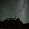 The Milky Way near Crater Lake, OR