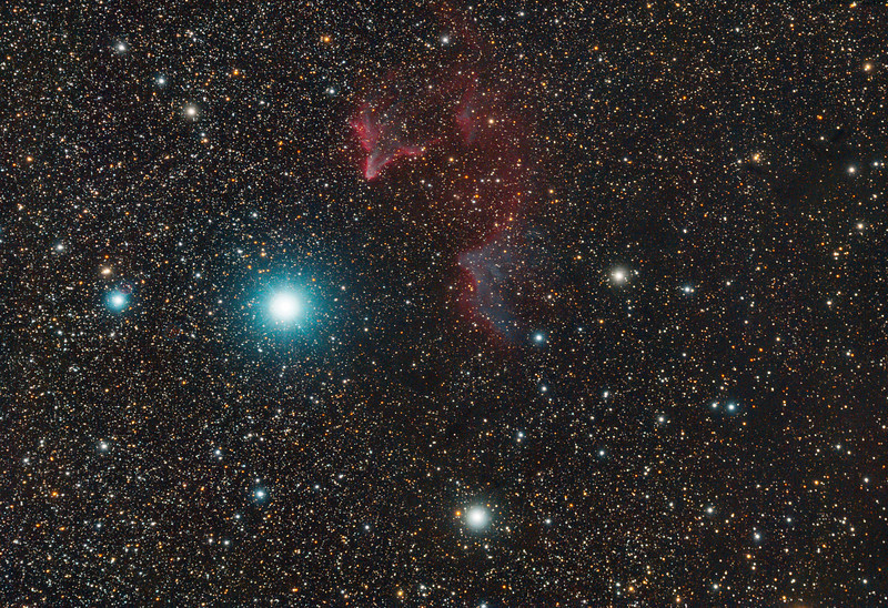 Ghost of Cassiopeia (IC 59 and IC 63) at Calstar 2013
