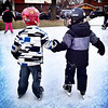 Skating buddies.