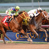 Constitution wins the 2014 Florida Derby at Gulfstream Park. Coglianese Photos