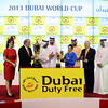 Connections of Sajjhaa at the Dubai Duty Free trophy presentation. Photo by Dave Harmon