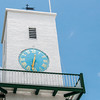 Clock tower at St. Peter's Church in St. George's Island, Bermuda