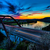Pennybacker East View Sunset
