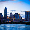 Downtown Austin Texas from the Boardwalk on Ladybird Lake #2