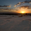 Sunset at the China Wall - Mungo National Park, New South Wales, Australia