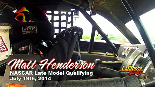 Matt Henderson In Car Video, July 19th, 2014