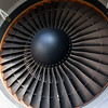 Engine of Private P4-CLA Boeing 767-2DX/ER