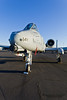 SACRAMENTO, CA - SEPT 8: USAF A-10 Thunderbolt II on display during California Capital Airshow on September 8, 2012 at Mather Airport, Sacramento, CA.