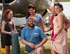 CAF MN Wing member Jason with Pin-Up models.