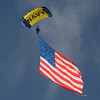 """US Navy """"Leap Frogs"""" Parachute Team"""