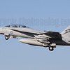 The RAAF's Boeing F/A-18F Super Hornets were one of several debutants at Pitch Black 2012. A44-223 is seen here retracting its undercarriage as it departs RAAF Darwin on a morning sortie