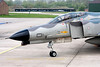 """Close-up of the German Air Force F-4F Phantom II (38+33, cn4429) in """"Norm 81"""" retro c/s, celebrating the final months of F-4F operations."""