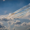 Blue Angels Smoke Trail