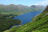 Looking down Wast water on the climb to Whin Rigg summit, 14/07/11