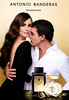 ANTONIO BANDERAS Diverse (The Golden Secret - Her Golden Secret) 2013 Spain (handbag size format) MODELS: Paz Vega (actress, Spain) & Antonio Banderas