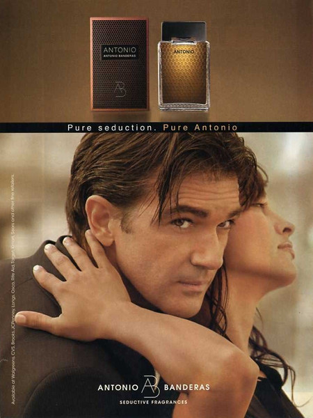 ANTONIO BANDERAS Antonio 2006 US 'Pure seduction  Pure Antonio'