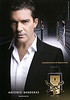 ANTONIO BANDERAS The Golden Secret 2011 Spain 'Concentrate of seduction'(handbag size format)