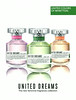 BENETTON United Dreams (Love Yourself + Live free + Stay positive) 2014 Spain 'The new feminine fragrance collection'