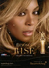 BEYONCÉ Rise 2014 UK 'The new fragrance - Exclusively at Superdrug'
