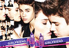 JUSTIN BIEBER Girlfriend 2012 US recto-verso with scent patch