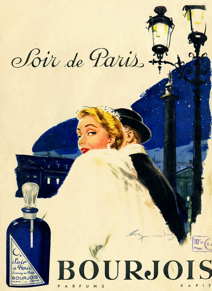 BOURJOIS Soir de Paris 1955 France