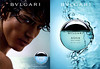 BULGARI Aqua Marine pour Homme 2008 Spain (recto-verso with scented sticker) 'Despegar para descubrir la fragancia - The new fragrance for men'