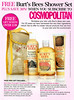 BURT'S BEES Shower Set 2010 UK (promo subscription Cosmopolitan)