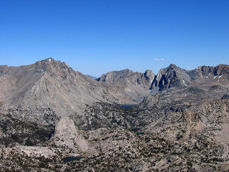 View east from summit of Mt. Cotter