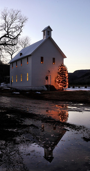 Christmas Time in Boxley Valley - Boxley Valley Baptist Church - Buffalo National River Area - Christmas 2013