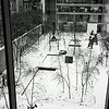 Sculpture Garden At MOMA in Winter