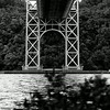 George Washington Bridge near the Little Red Lighthouse Washington Heights NYC