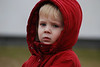 Boy in Red Hooded Jacket