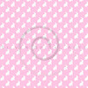 Pink White Bunny Background Bunnies Pattern Texture