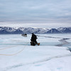 The return journey and negotiating leads in the sea ice