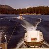 Barbara Wardell skiing at Shaver Lake in 1965