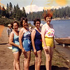 Diane Wheat, Lois Wardell, Penny Spence, and Barbara Wardell at Shaver in 1965