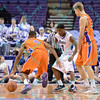 NCAA Basketball 2014 - Evansville defeats Drake 69-61