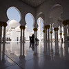 Photo shoot at the Sheik Zayed Grand Mosque in Abu Dhabi, UAE.