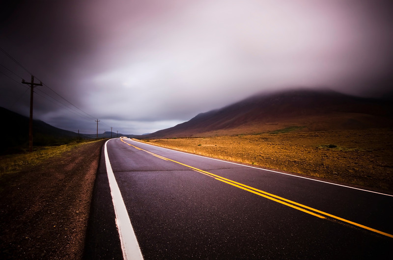 The Road. Gros Morne National Park, Newfoundland, Canada, 2011.