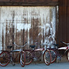 3 Generations of Family Owned Schwinn Straight Bar Bicycles