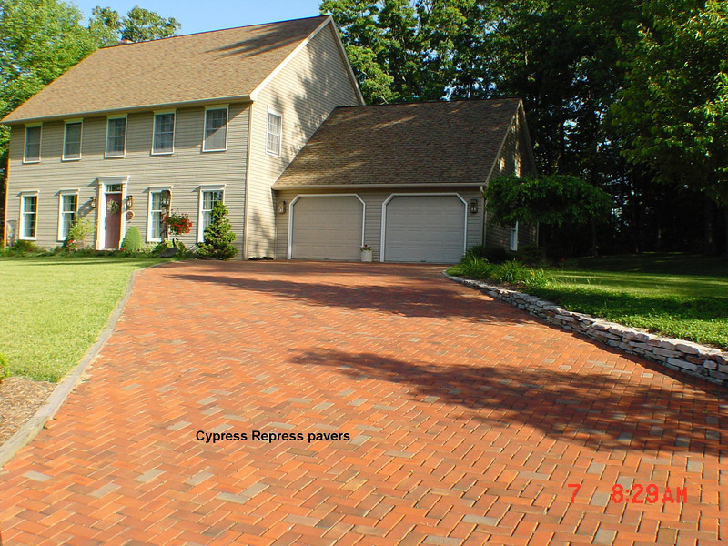 Cypress Chamfered Repressed 4x8 Paver