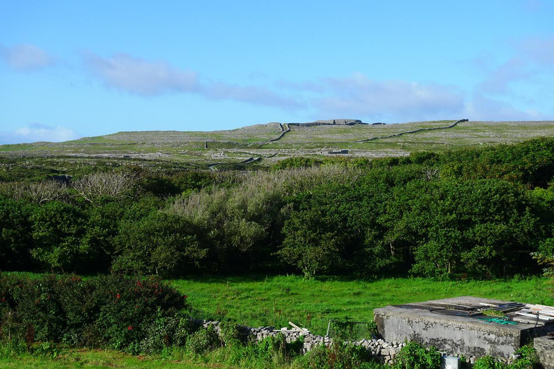 Dun Aengus from our B&B