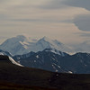 Looking back at Denali on my way to Teklanika.