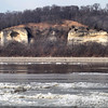 Bluffs across the river from Portage Des Sioux