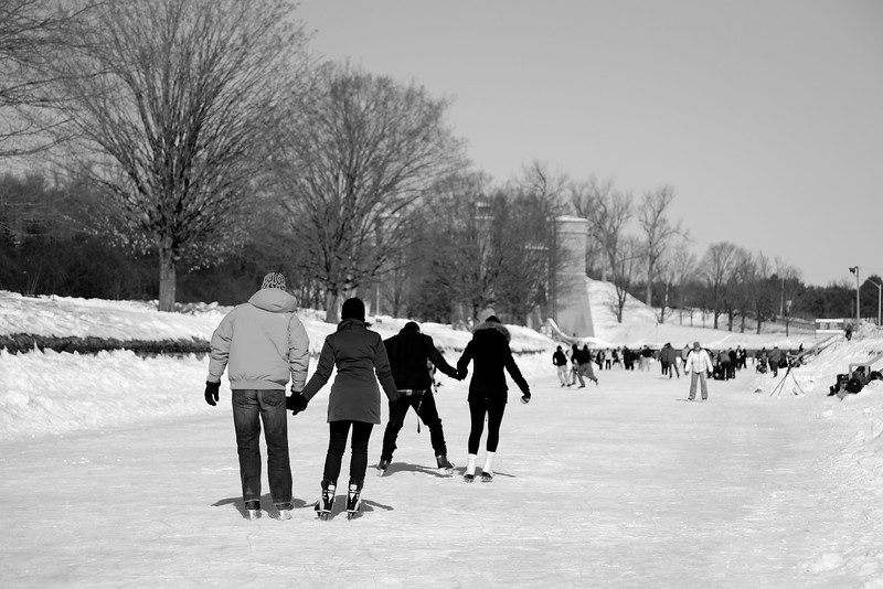 Skating the Canal