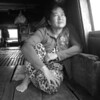 wife on the family Mekong river boat who took us from Chou Doc to Cam Tho