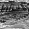 Painted Hills B&W MSFRN Image #PH0074-B&W  12x16 --  $40 mat only, $95 framed 18x24 --  $65 mat only, $150 framed