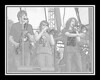 Ribfest - 2012 - Naperville, Illinois - Navistar Stage - School of Rock Allstars - Pencil Sketch - Print as 8x10