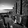 Old dissused graveyard next to Stonehaven Golf club, Aberdeenshire, Scotland. Couldn't help but think what a beautiful final resting place overlooking the North Sea. Shot on a very sunny day, it looks better in Mono than colour, far more impact.